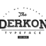 derkon_typeface_free_download